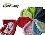 Sweet Baby * * gris * * Reductor de vibraciones para bebé/recién nacido, cojín reductor de asiento 0/0+, cojín universal para coche, Maxi Cosi, Römer y otros