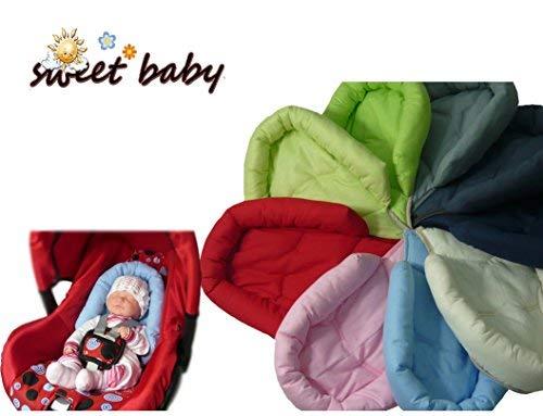 Sweet Baby ** GRIJS ** SOFTY Reducer voor Baby Auto Seat 0/0+ Universele Reducer Kussen/Pasgeboren als Maxi Cosi, Römer en andere