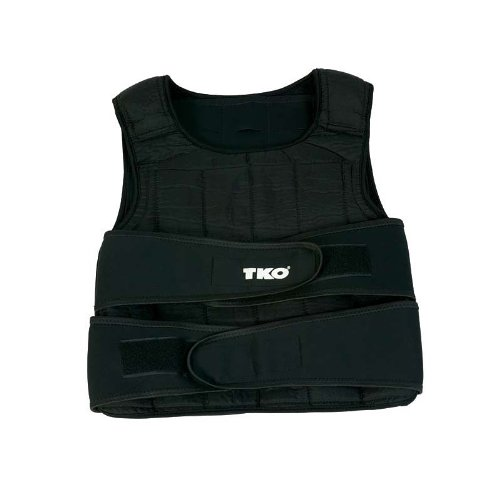 SOFTSTEEL weights conform to your body's shape, providing the most comfortable fit possible Tough synthetic vest with stretch pockets for weights Weight adjustable in 1 lb increments Adjustable quick Velcro closure system fits any body size 40 lb ves...