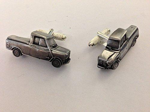 Mini Pick Up 3D Manschettenknöpfe Classic Car Zinn Effekt Manschettenknöpfe ref147