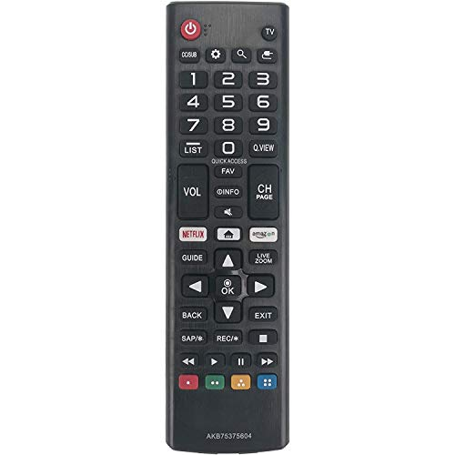 Young Remote Control AKB75375604 Compatible for LG 4K Smart TV 32LK610BPUA 43LK5400PUA 43LK5700BUA 43LK5700PUA 43UK6090PUA 49UK6090PUA 49LK5700PUA 50UK6090PUA 55UK6090PUA 65UK6090PUA