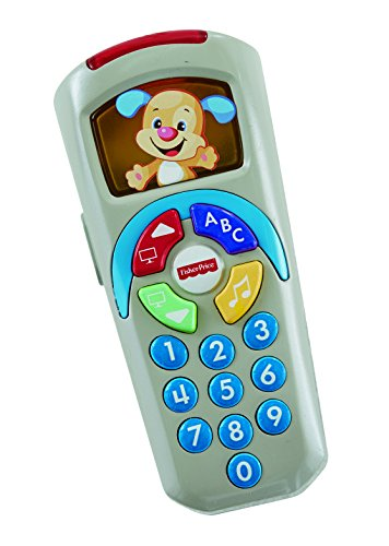 Fisher-Price DLD33 Fernbedienung für Hunde, Lernspielzeug für Kinder ab 6 Monaten