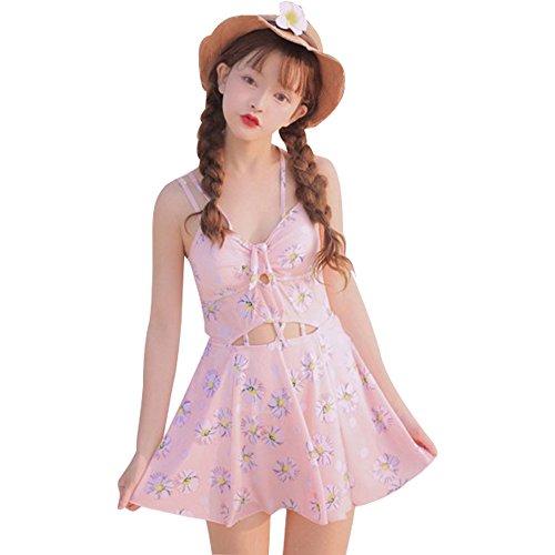 Badeanzug Sexy Japanisch Badebekleidung Damen Kawaii L, rose
