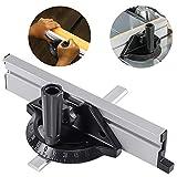 Sistema de valla de ingletes, Regla para sierra de mesa, herramientas de carpintería, accesorios para sierra de mesa, sierra de cinta, mesa de enrutador