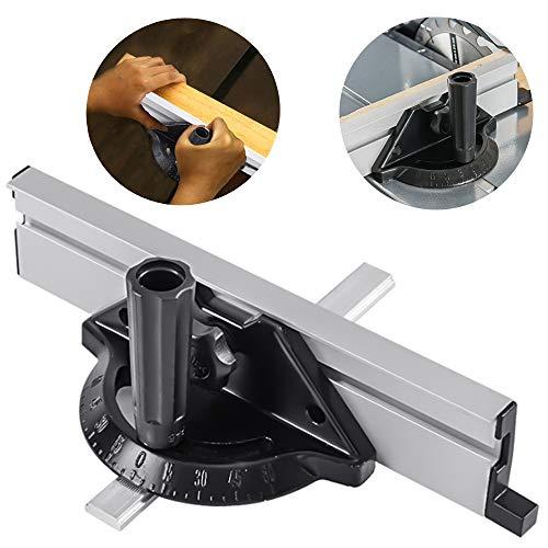 Sistema de valla de ingletes, Regla para sierra de mesa, herramientas de...