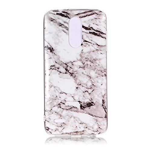 Yhuisen Handy-Taschen und Handy-Hüllen, LG K8 2018 Fall, Marmor Stein Muster weichen TPU zurück Shell Fall für LG K8 2018 (Farbe : 6)