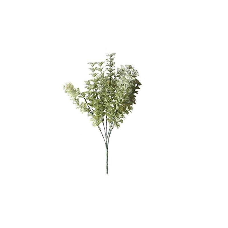 silk flower arrangements fenleo artificial flowers silk lambs ear leaf spray greenery for home décor wedding
