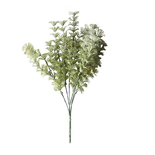 Artificial Flowers Artificial Flowers Silk Lambs Ear Leaf Spray Greenery for Home Décor Wedding for Home Decoration, Wedding Table, Window, Living Room, Bedroom, Office, Party Decor
