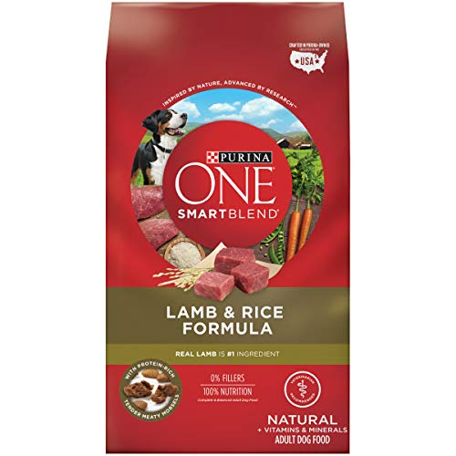 Purina ONE Natural Dry Dog Food, SmartBlend Lamb & Rice Formula - 31.1 Lb