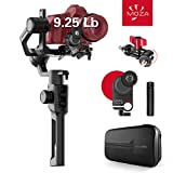 MOZA Air 2 with iFocus-M Wireless Motor, 3-axis Gimbal Stabilizer, 9Lb Payload 8 Follow Modes 16h Run-time for DSLR Mirrorless Pocket Cinema Cameras, Multi-Function Ballhead & Hard Case Included