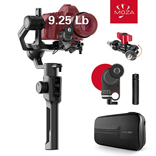MOZA Air 2 with iFocus-M Wireless Motor, 3-axis Gimbal Stabilizer, 9Lb...