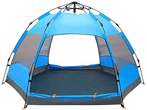 LAZ Camping Rainproof Tent, Beach Tent Quick Cabana Sun Shelter, Ventilated for Hiking Climbing Beach Sun Shelter