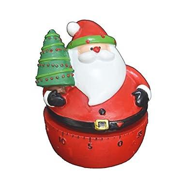 60 Minutes Holiday Kitchen Timer Manual Christmas Santa Cute Timer by GIFTME 5