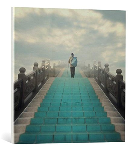 Kunst für Alle Cuadro en Lienzo: Hossein Zare Endless - Impresión artística, Lienzo en Bastidor, 60x60 cm