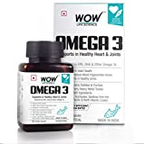 Best Omega 3 Supplements - WOW Life Science Omega-3 Capsules, 60 Capsules Review
