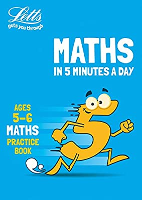 Letts maths in 5 minutes ? Letts maths in 5 minutes age 5-6 from Letts