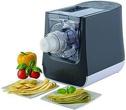 Trebs 99333 Naadel elektrisch voor verse pasta en ravioli pastamachine (300 W, 1 stuk (S), 390 mm, 185 mm, 265 mm, 5,5 kg)
