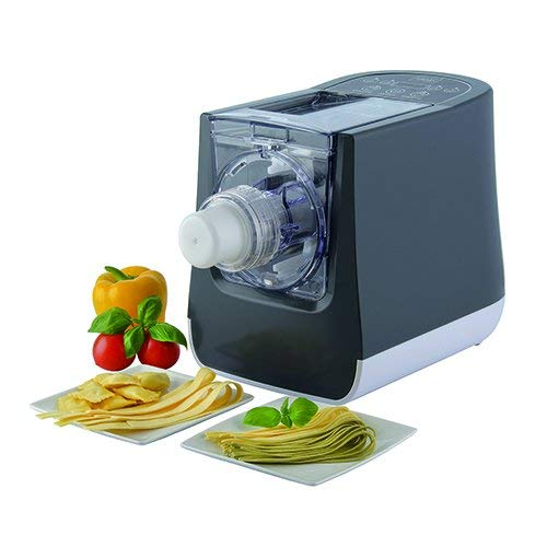 Trebs, 99333, elektrische Nudelmaschine, für frische Nudeln und Ravioli, 300 Watt, 1 Stück, Maße: 390 x 185 x 265 mm, Gewicht: 5,5 kg