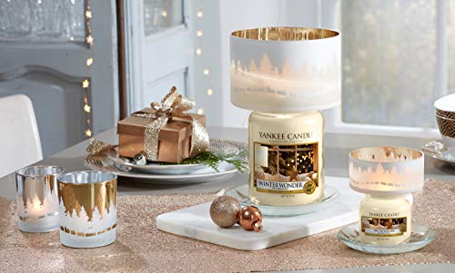 Yankee candle Jar Winter Wonder Candela di Natale 5038581051109, Multicolore, Unica