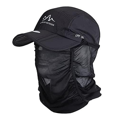速乾性折りたたみ式野球帽ファッションユニセックス日焼け止め野球帽カジュアルゴルフトラベルスポーツアウトドアフィッシングキャップ