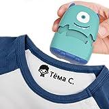 sello ropa niños personalizado,sello ropa niños, pegatina de sello que no se descolora fácilmente para evitar que el bebé se pierda, sellos adhesivos (A)