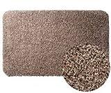 Felpudo súper absorbente Clean Step, 45 x 70 cm, color marrón