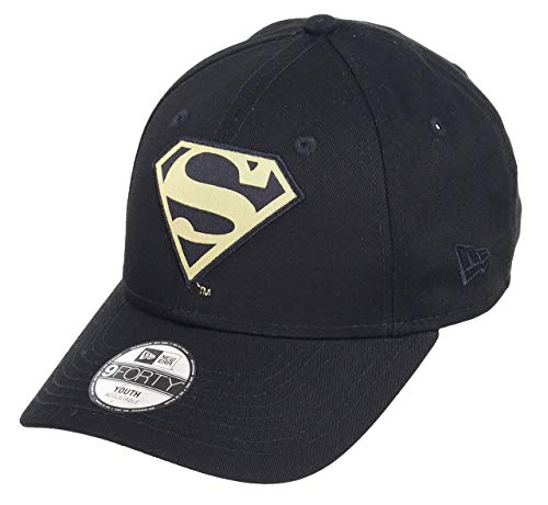 New era Superman 9forty Adjustbale Kids Caps Character Black/Gold - Child