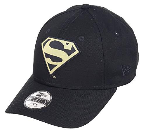 New era Superman 9forty Adjustbale Kids Caps Character Black/Gold - Child
