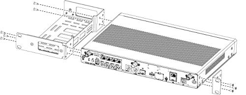 Cisco Compatible 1RU Rack Mount Kit for Cisco 1000 Series ISR Router/ACS-1100-RM-19