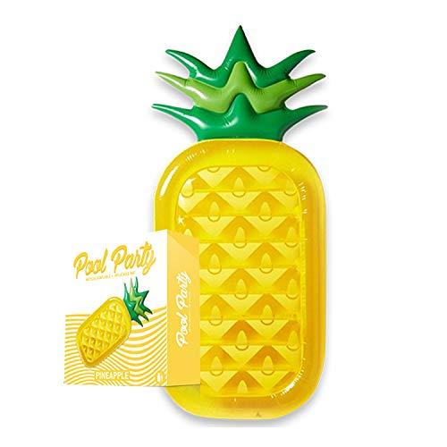 XXL Schwimmreifen Riesen Ananas | Ananas | Pool und Beach Party | Poolspiel | Sommer | XXL Schwimmreifen | Luftmatratze | Von OriginalCup® entwickelt