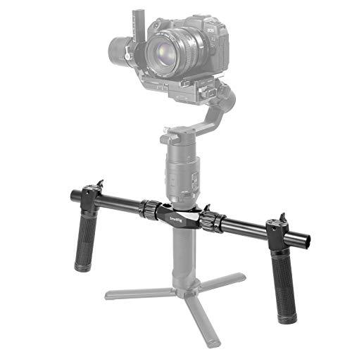 SMALLRIG Doble Manija Compatible con dji Ronin S/Ronin-SC, Manillar 470mm con Dos Empuñaduras - 2250