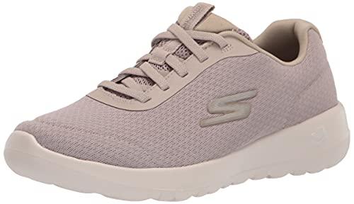 Skechers Women's GO Walk Joy-Ecstatic Sneaker, Taupe, 6