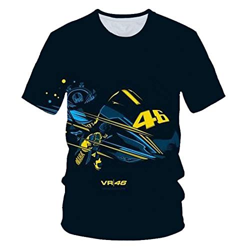 Camisetas Camiseta con Estampado 3D Camiseta de Manga Corta para Hombre con Cuello Redondo Camisetas de Locomotora en Descenso Tops con Refranes Camisas para Hombre Tops-UNA_SG