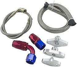 DishyKooker Oil Feed Line Drain Fitting Flange Kit for Toyota Supra 1JZGTE 2JZGTE 1JZ/2JZ Single Turbo PQY-TOL22 Show