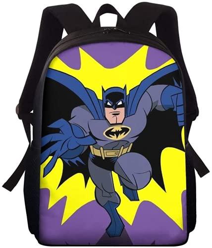 Mochila B-at-m-an para niños, mochila de guardería, mochila juvenil, regalo para niños, regalo juvenil, holgada, cómoda y ligera (A05,16 pulgadas)