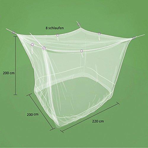 Sekey Moustiquaire pour Lits Simples/Doubles   Écran de Protection Anti-Insectes   Kit de Suspension Complet   Système d'installation Rapide et Facile