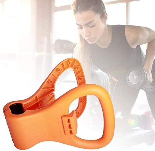 YANGAC Kettlebell Dumbell Grip Verstellbar Weights Bodybuilding Equipment Hanteln Griff FüR Zu Hause Hantel Fitness Indoor Yoga Workout HeimüBung Bodybuilding Gewicht Verlieren