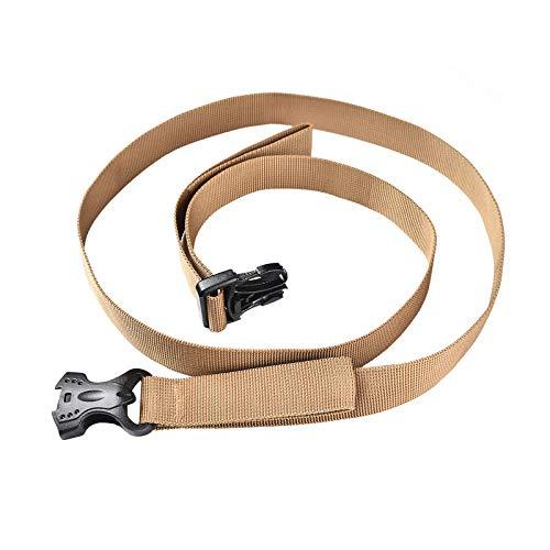 H HILABEE Correas de amarre, correas de trinquete ajustables de gran resistencia, correa de carga con hebilla de leva adecuada para transportar varias