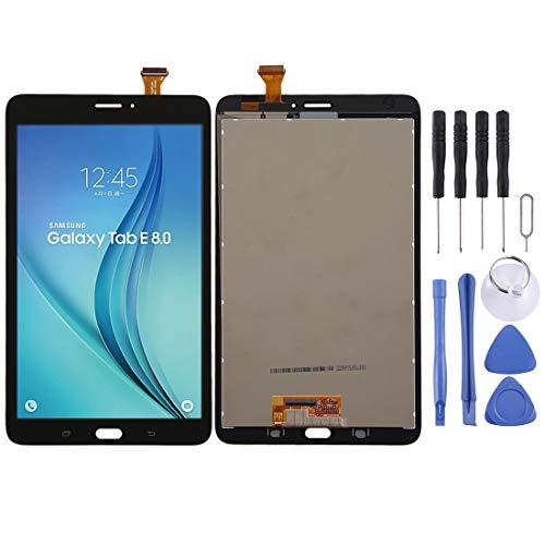 Mobiele telefoon accessoires VA LCD-scherm en Digitizer Volledige Vergadering for Samsung Galaxy Tab E 8,0 T3777 (3G-versie) (wit) (Color : Black)