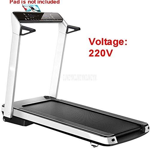 KaiKai Tretmühle Tretmühle Mini Folding Elektro-Running Training Fitness Laufband Indoor Sportgerät (Farbe: Multi, Größe: Eine Größe) (Color : Black, Size : One Size)