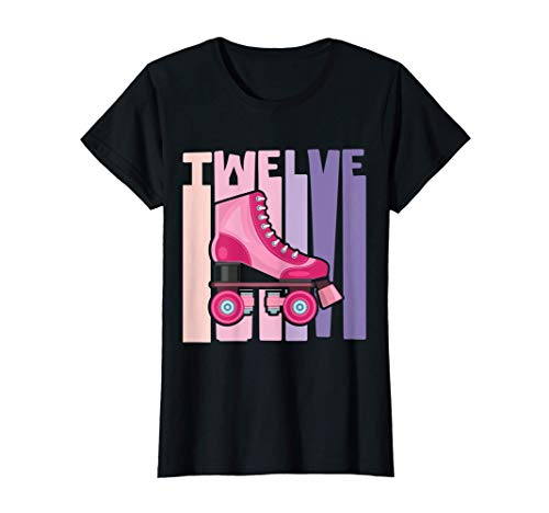 Retro Patines De Ruedas Roller Skates 1970s 1980s Disfraz Camiseta