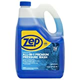 Zep All-In-1 Pressure Wash cleaner 172 ounce ZUPPWC160 (Pack of 2) Concentrated Pro Formula