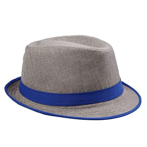 Sombrero De Paja Unisex De Neón para O para Mujer Hombre Sombrero...