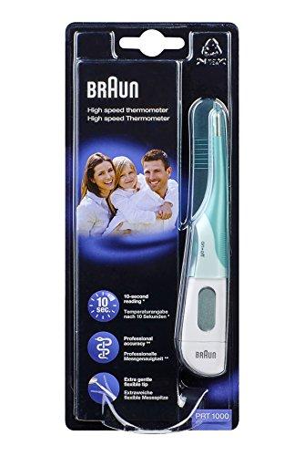 Braun 66024800–Thermometer mit flexibler Scherkopf, weiß