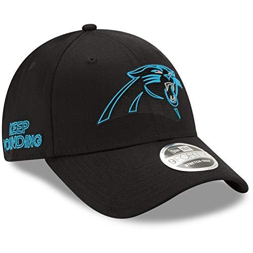 New Era Carolina Panthers 9forty Stretch Snapback Cap NFL 2020 Draft Black - One-Size