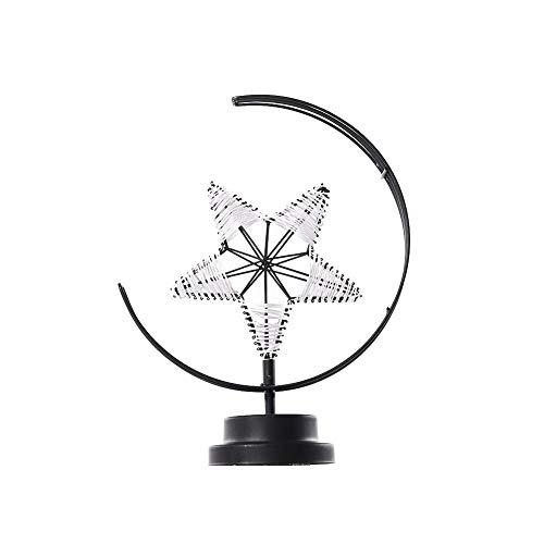 Bureaulamp met ledlamp, draadloos, van ijzer, elegant bedlampje in de stijl van de sterren, voor slaapkamer, woonkamer/woonkamer/eettafel, werkt op batterijen