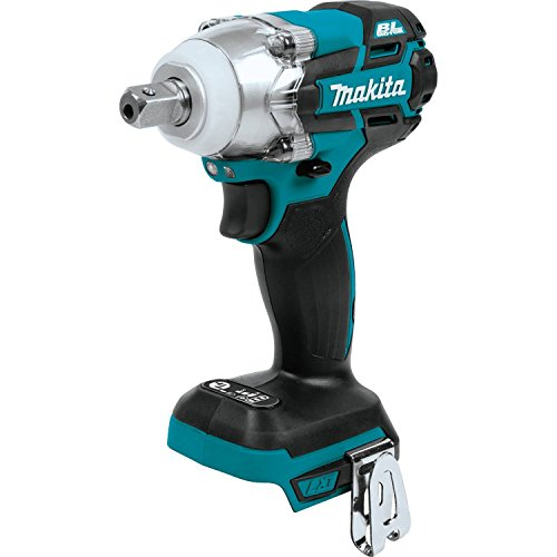 """Makita XWT11Z 18V LXT Lithium-Ion Brushless Cordless 3-Speed 1/2"""" Sq. Drive Impact Wrench"""