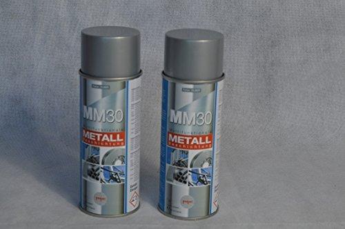 2 DOSEN FERTAN MM30 MULTIFUNKTIONALE METALLBESCHICHTUNG 400 ML SPRÜHDOSE AUTO METALL USW
