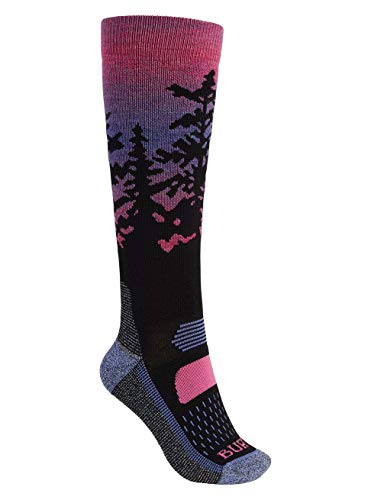Burton Damen Performance Midweight Snowboard Socken, Sunrise, ML