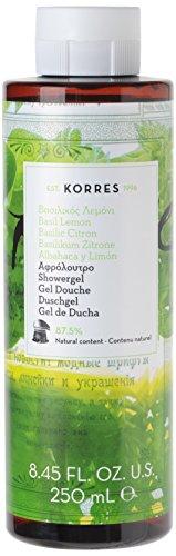Korres Basil Lemon Duschgel, 1er Pack (1 x 250 ml)